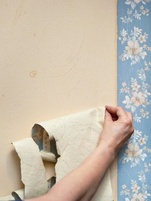 Wallpaper removal in Winton, California by New Look Painting.