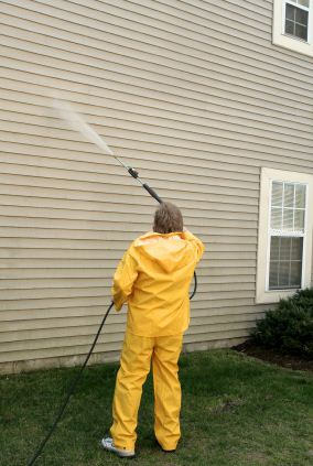 Pressure washing in Winton, CA by New Look Painting.
