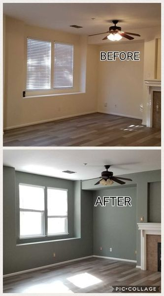 Before & After Interior Painting in Riverbank, CA (1)