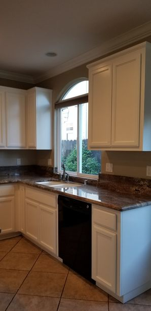 Before & After Cabinet Painting in Riverdale, CA (2)