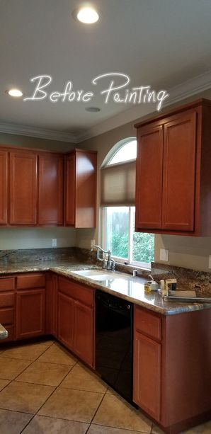 Before & After Cabinet Painting in Riverdale, CA (1)
