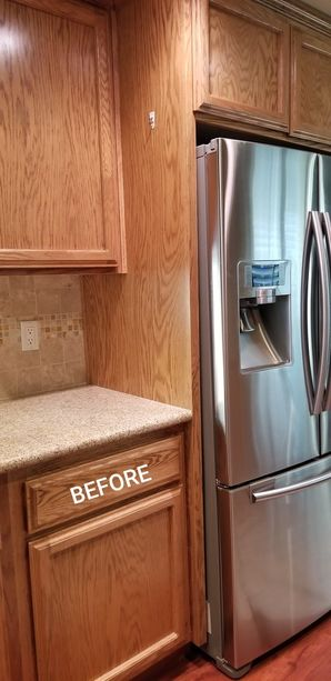 Before & After Cabinet Refinishing in Tracy, CA (1)