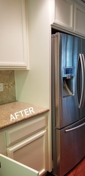 Before & After Cabinet Refinishing in Tracy, CA (2)