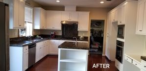 Before & After Cabinet Painting in Riverbank, CA (2)