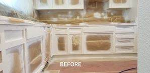 Before & After Cabinet Painting in Modesto, CA (1)