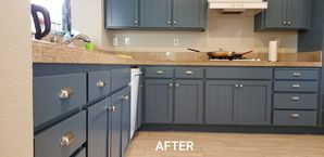 Before & After Cabinet Painting in Modesto, CA (2)