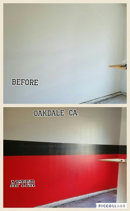 Before & After Interior Painting in Oakdale, CA