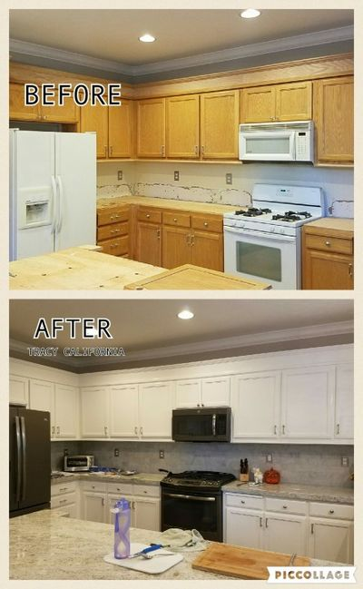 Cabinet Refinishing Tracy CA