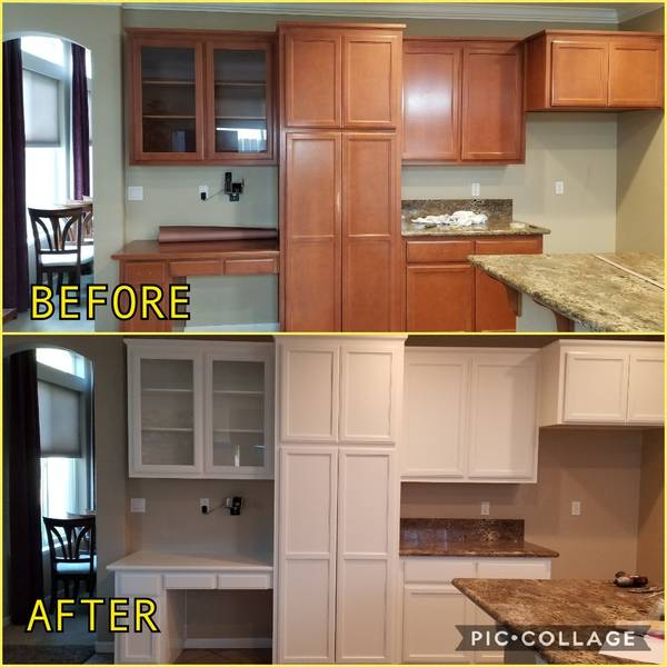 Before & After Cabinet Painting in Riverdale, CA (3)