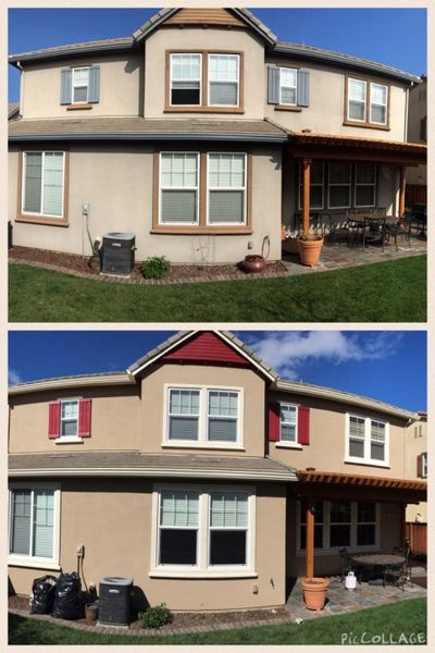 Before and After Exterior Painting Services Tracey, CA