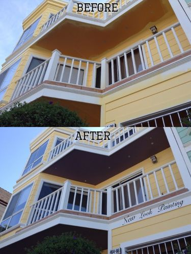 Before and After Exterior Painting Services San Francisco, CA