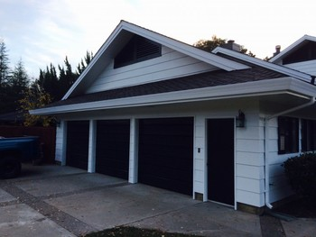 After Exterior and Garage Painting North Woodbridge, CA