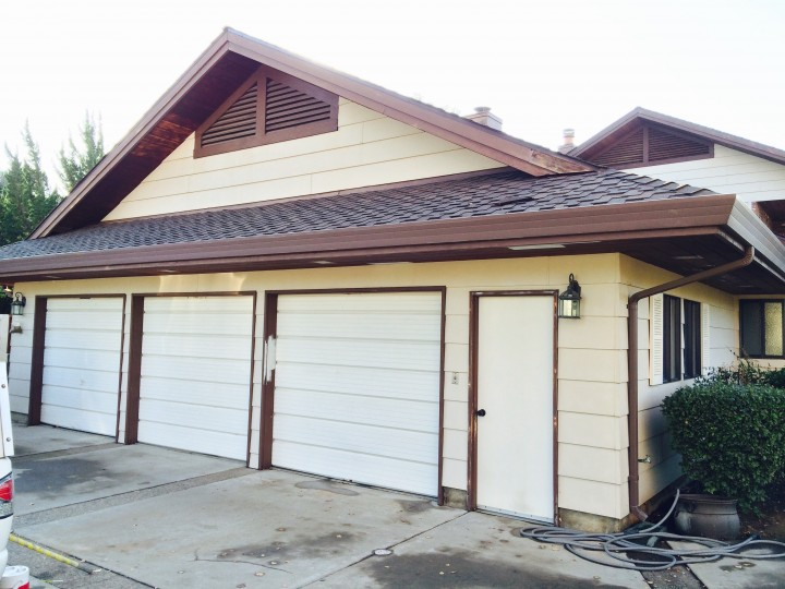 Before Exterior and Garage Painting North Woodbridge, CA